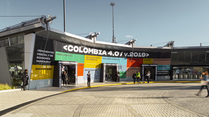 Colombia 4.0 signage 1