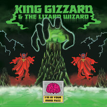 King Gizzard and The Lizard Wizard album covers and promotional material (2014–2019)