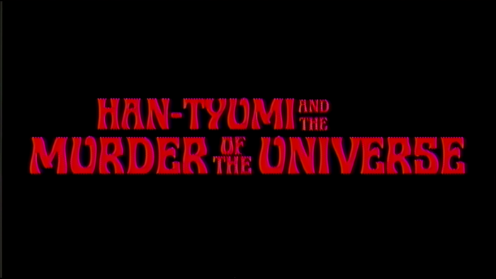 """Han-Tyumi and the Murder of the Universe"" music video, from Murder of the Universe (2017). Typeset in ."
