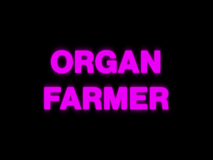 """Organ Farmer"" music video, from Infest the Rats' Nest (2019). Typeset in Helvetica Black."