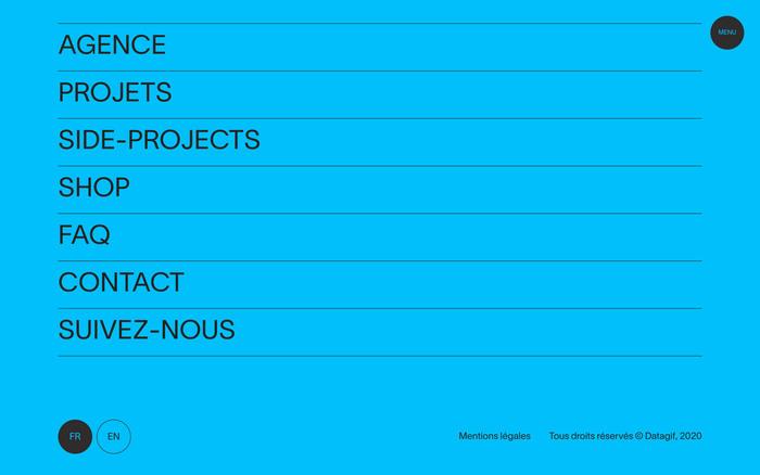 Datagif portfolio website 5