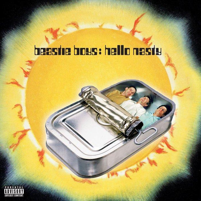 Beastie Boys – Hello Nasty album art and promotion 1