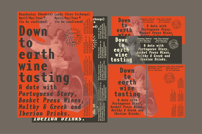 Down to Earth Wine Tasting poster 4