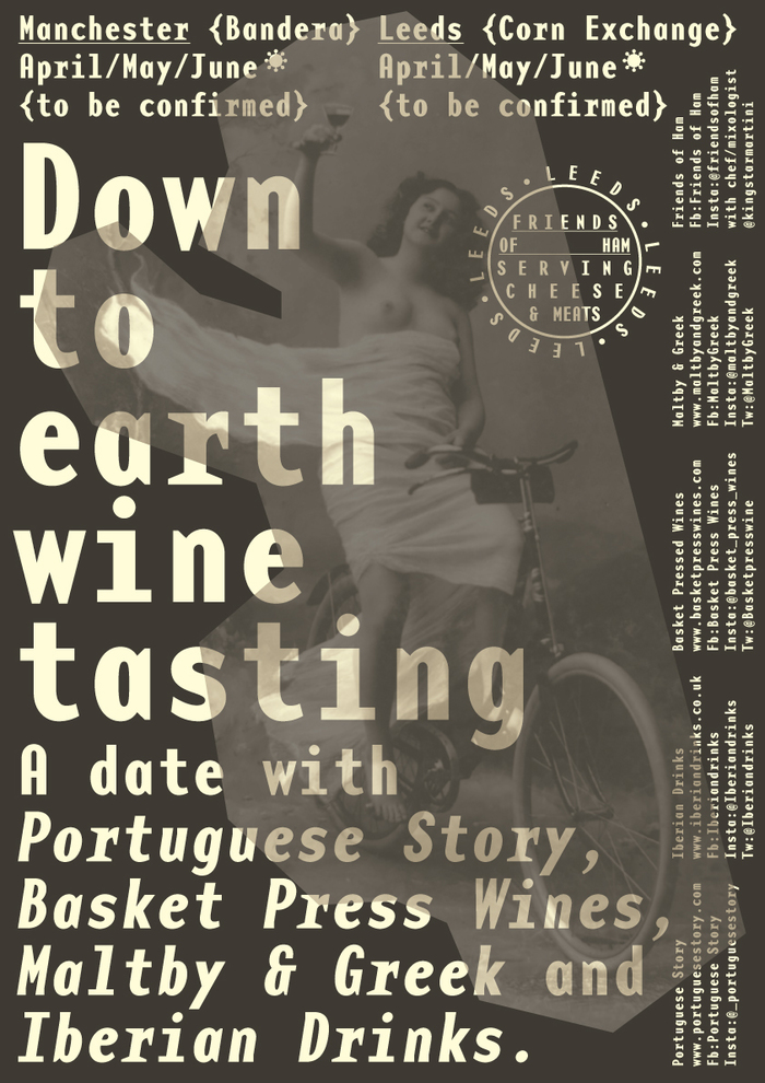 Down to Earth Wine Tasting poster 3