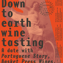 Down to Earth Wine Tasting poster