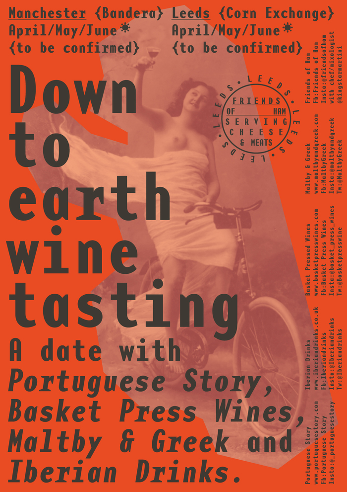 Down to Earth Wine Tasting poster 1