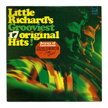 <cite>Little Richard's Grooviest 17 Original Hits!</cite> album art