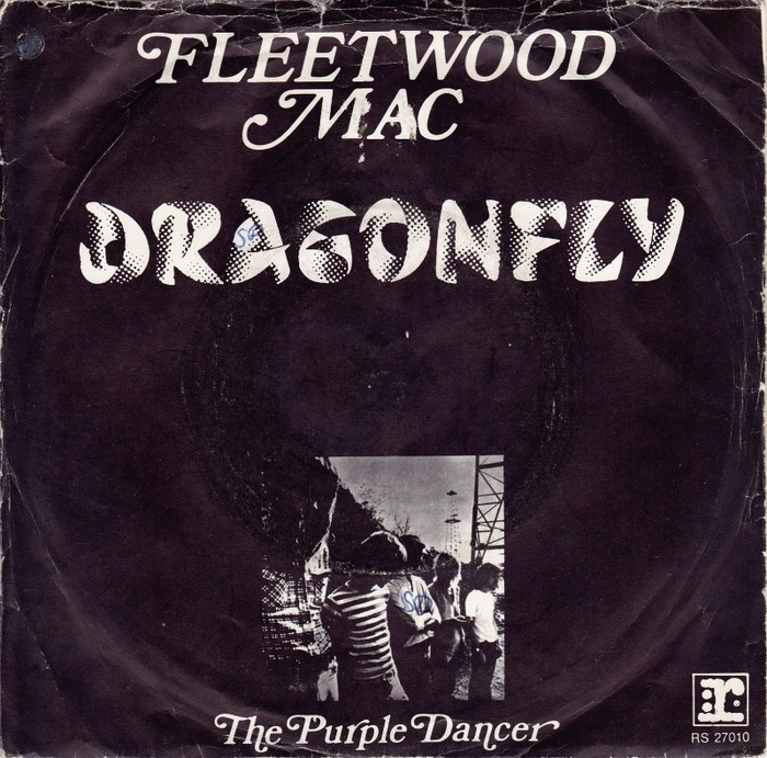 "Fleetwood Mac – ""Dragonfly"" / ""The Purple Dancer"" German and Dutch single covers 2"