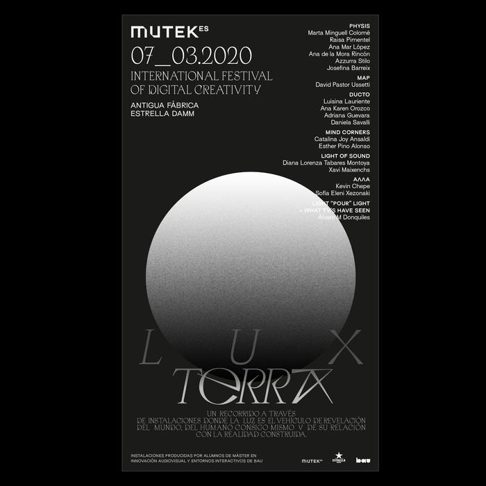 Lux Terra, Mutek 2020 2