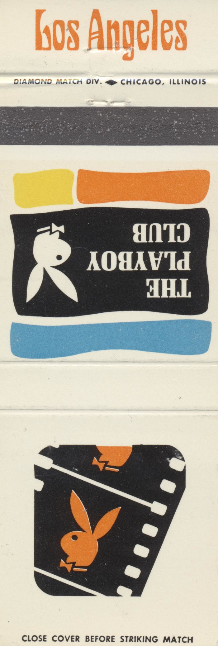 The Playboy Club city matchbook covers 14