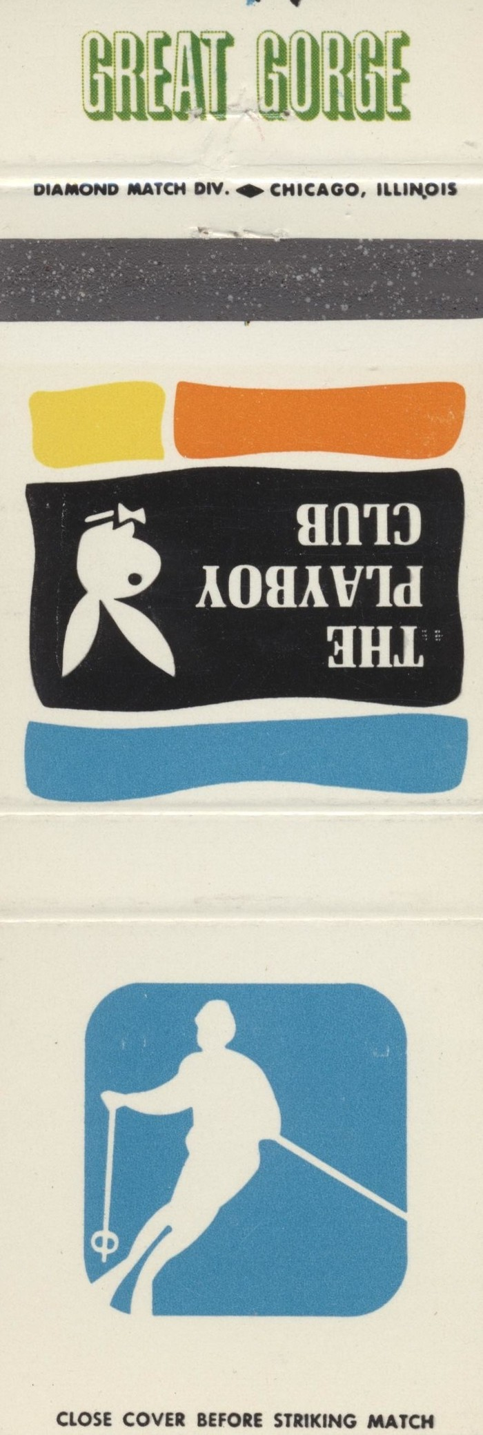 The Playboy Club city matchbook covers 9