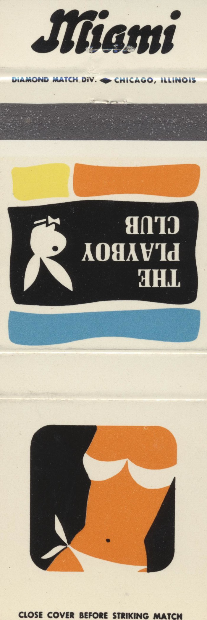 The Playboy Club city matchbook covers 16