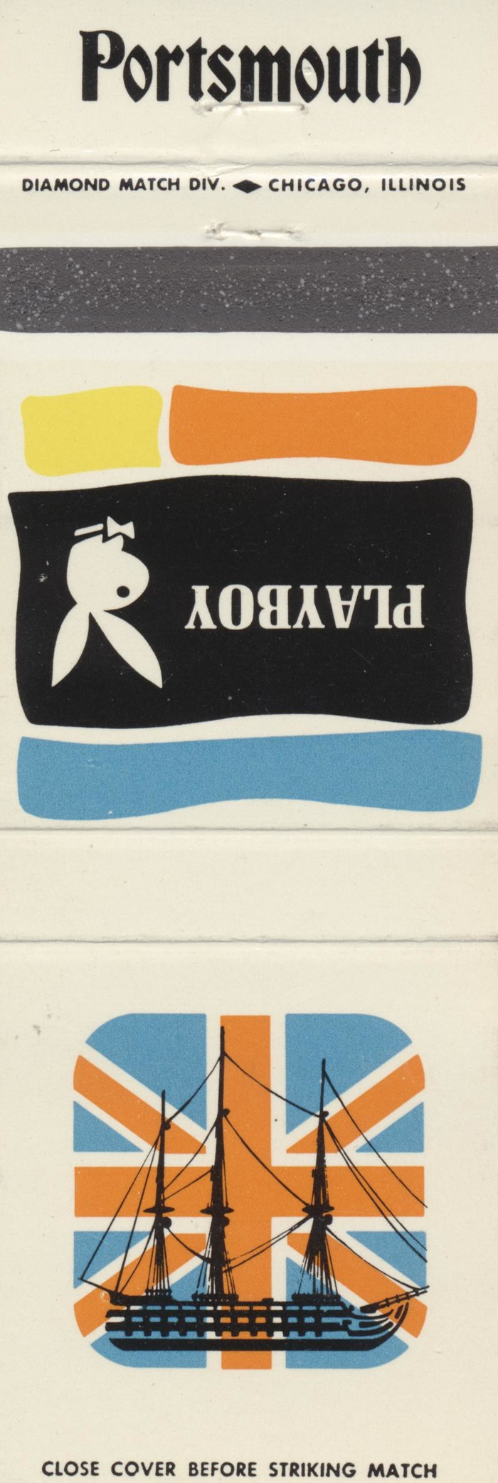 The Playboy Club city matchbook covers 21