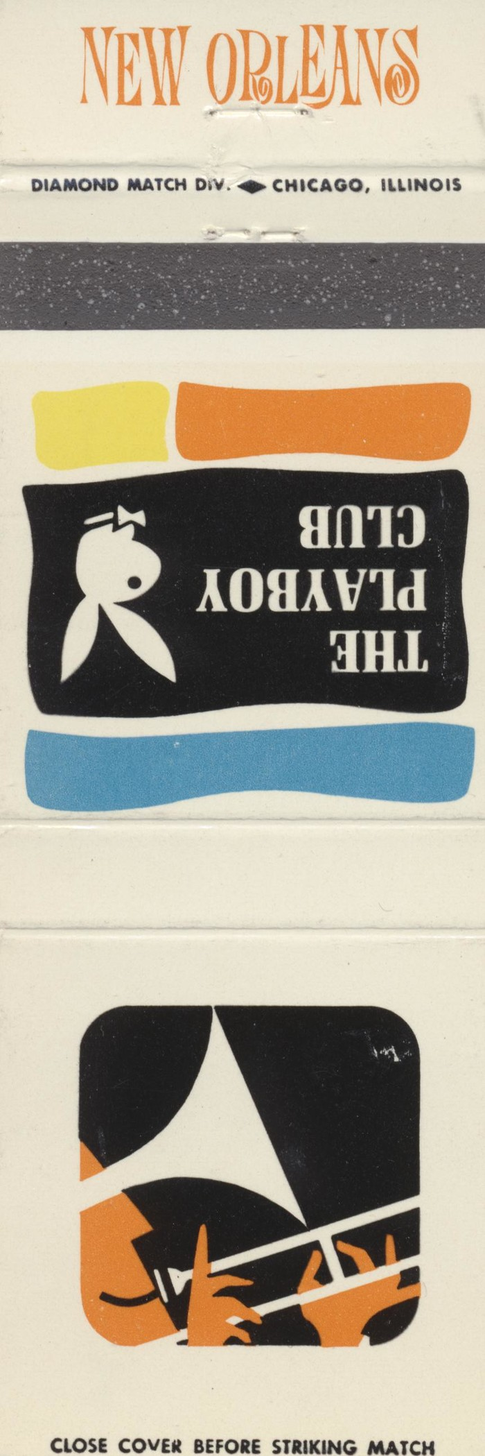 The Playboy Club city matchbook covers 18