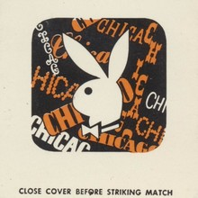 The Playboy Club city matchbook covers