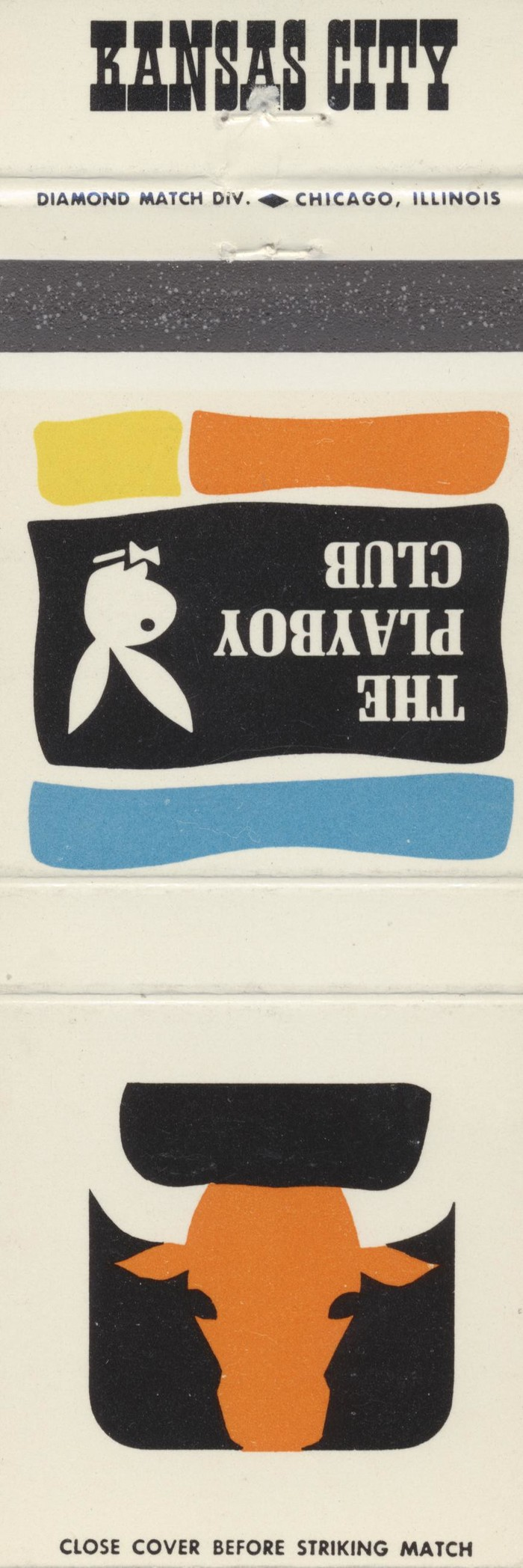 The Playboy Club city matchbook covers 11