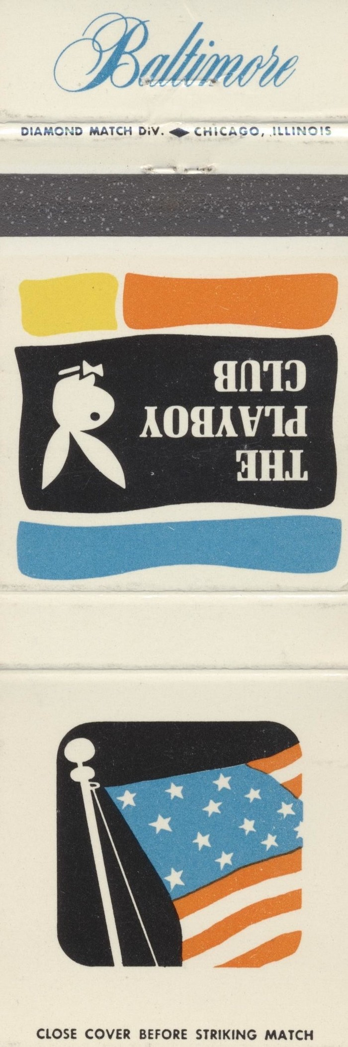 The Playboy Club city matchbook covers 3