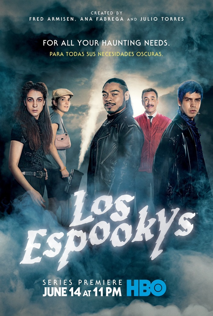 Los Espookys TV show logo and poster 2