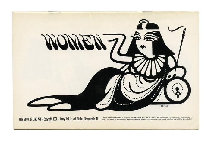 """""""Women"""" (No. 499) ft.  in all caps."""