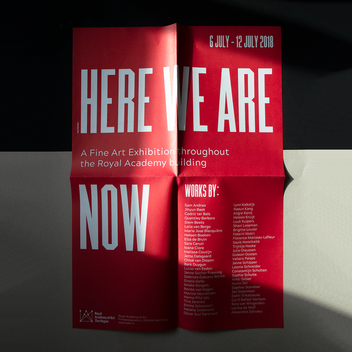 """""""Here we are now"""", KABK 5"""