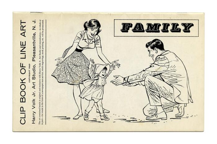 """Family"" (No. 368).  here is paired with Venus breit halbfett."