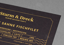 <cite>Sturm &amp; Dreck</cite> album release party tickets by Feine Sahne Fischfilet