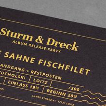 <cite>Sturm &amp; Dreck</cite> album release party tickets by Feine Sahne Fischfilet