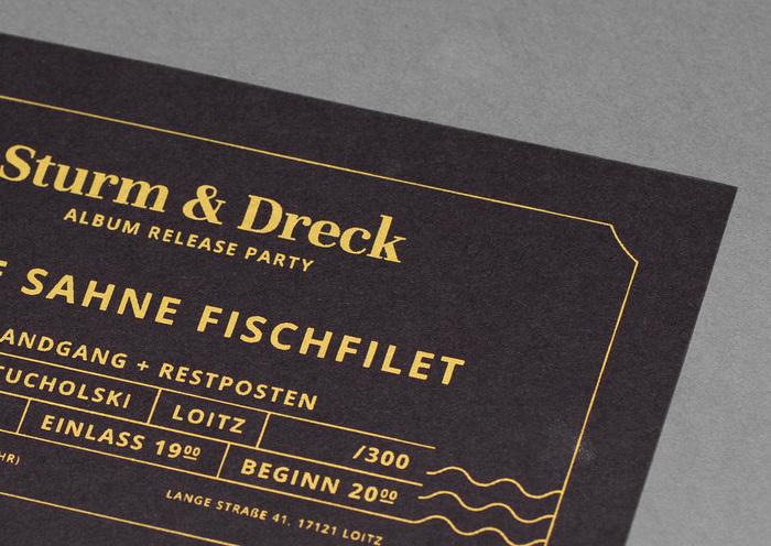Sturm & Dreck album release party tickets by Feine Sahne Fischfilet 1