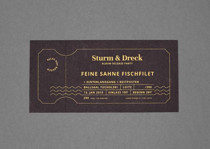 Sturm & Dreck album release party tickets by Feine Sahne Fischfilet 2