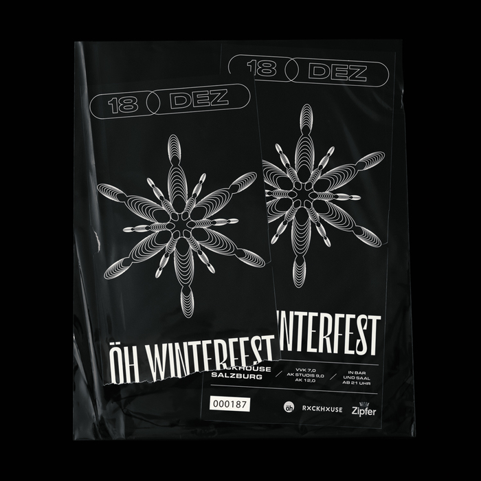 ÖH Winterfest poster and tickets 2