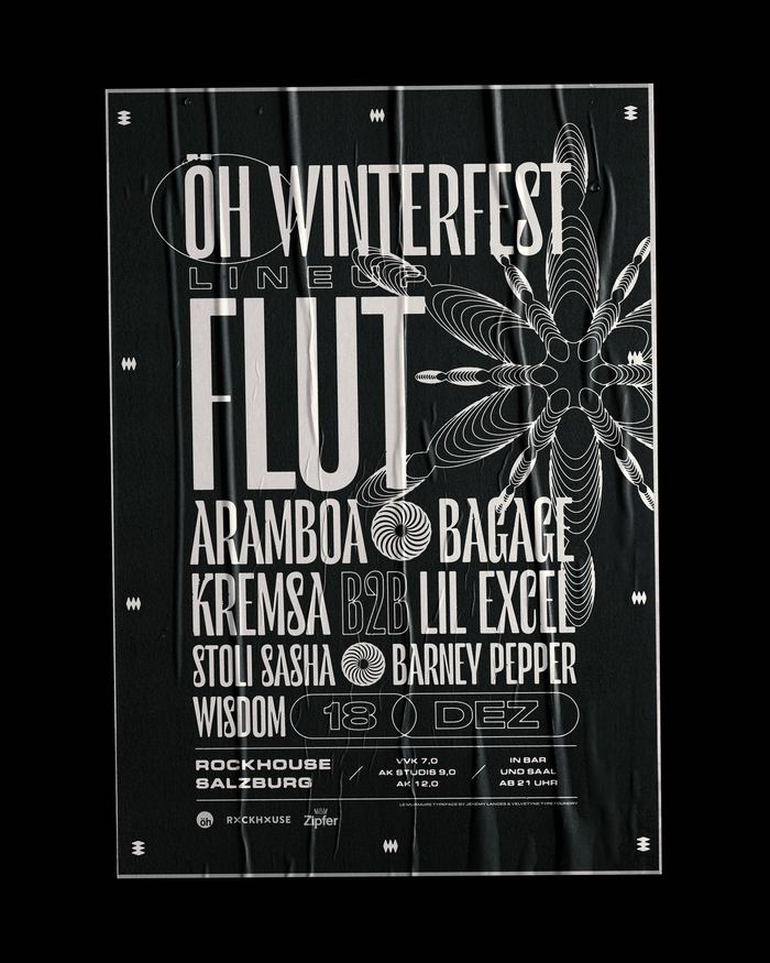 ÖH Winterfest poster and tickets 1