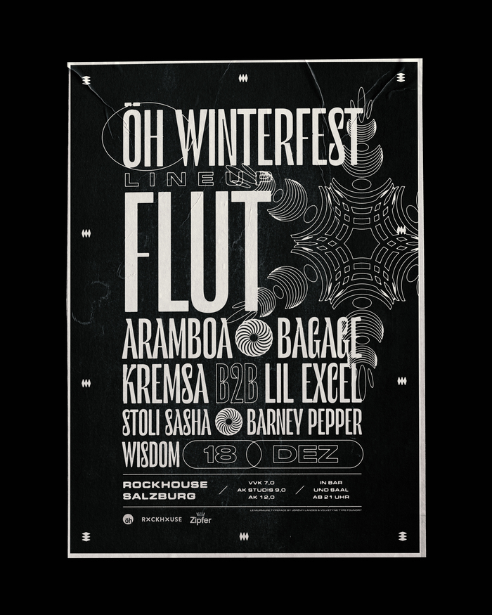ÖH Winterfest poster and tickets 5