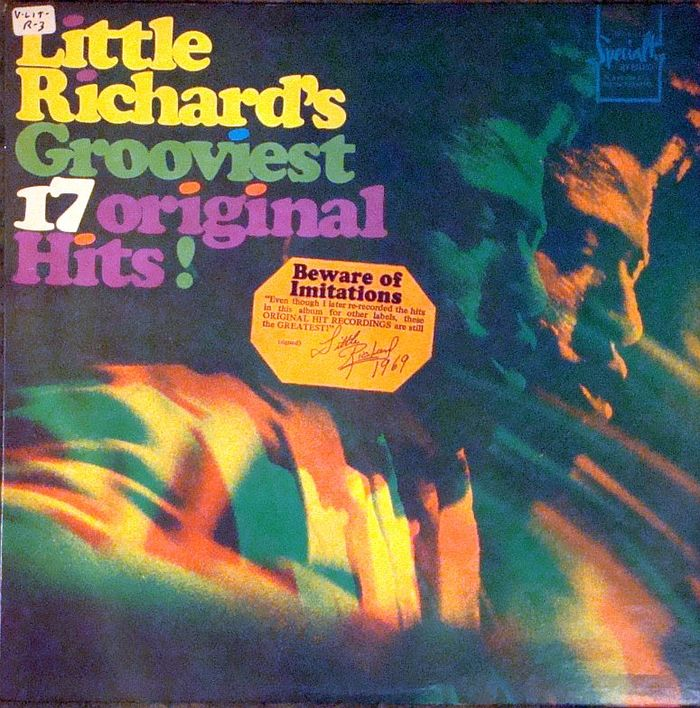 Little Richard's Grooviest 17 Original Hits! album art 2