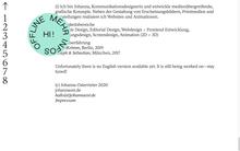 Johanna Osterrieter website