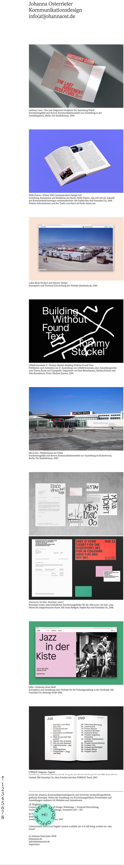 Johanna Osterrieter website 3