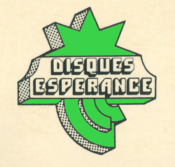 The Disques Espérance logo uses ITC Pioneer.