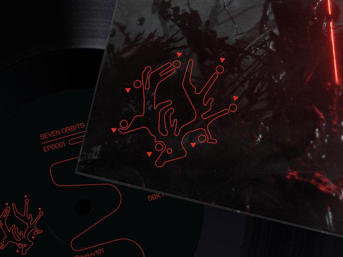 Seven Orbits – EP0001 album art 5