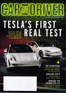 <cite>Car and Driver </cite>magazine (2020 redesign)