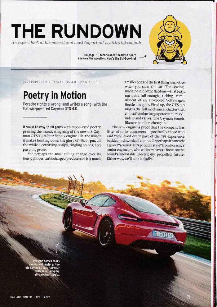 Car and Driver magazine (2020 redesign) 4