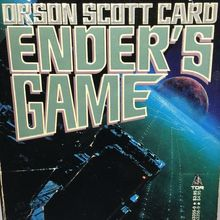 <cite>Ender's Game </cite>series book covers