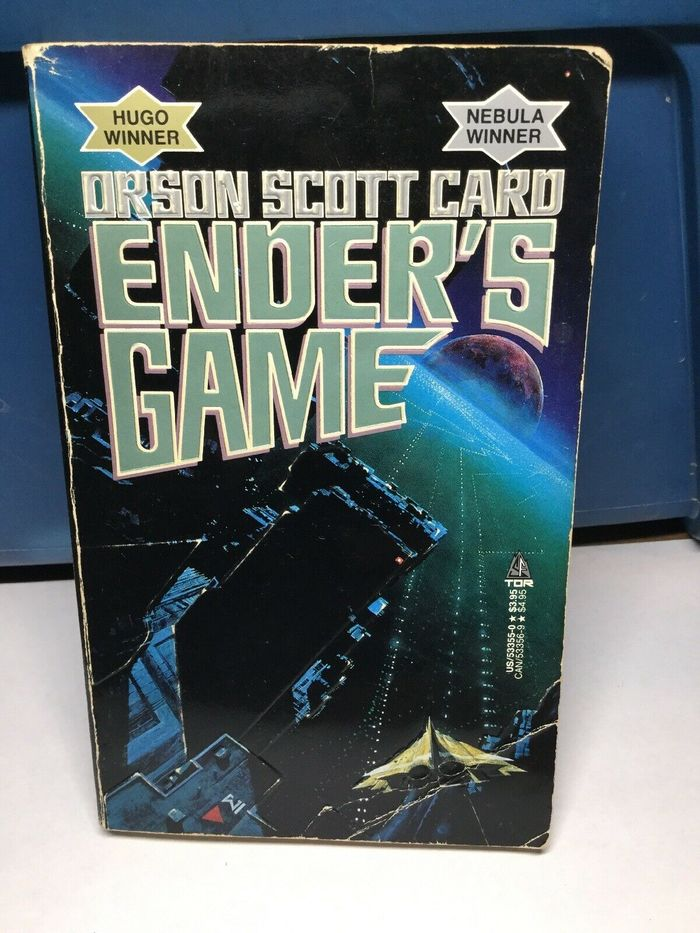 Ender's Game series book covers 1
