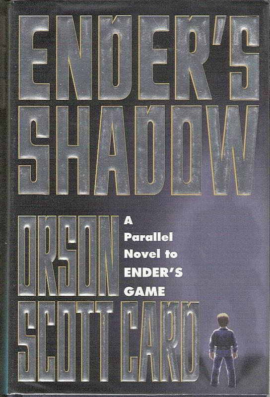 Ender's Shadow, hardcover (and paperback) editions, 1999. Cover art by Lisa Falkenstern.