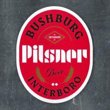 Bushburg Pilsner by Interboro Spirits & Ales