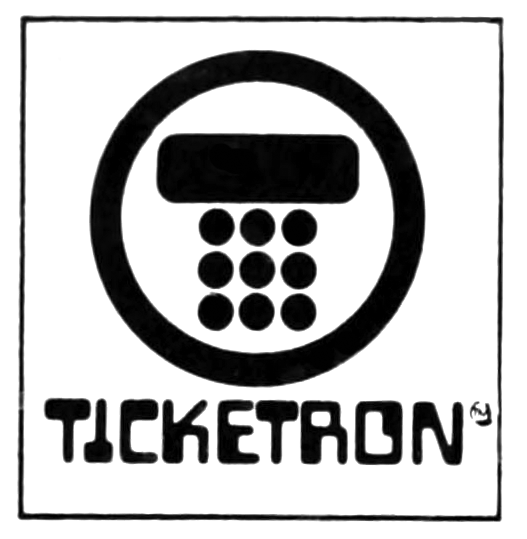 Ticketron logos (1973–1991) 9