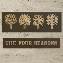 The Four Seasons restaurant identity