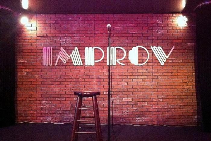 The Improv comedy club logo 1