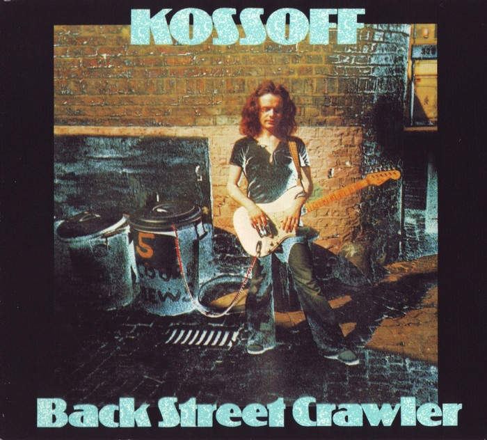 Paul Kossoff – Back Street Crawler album art