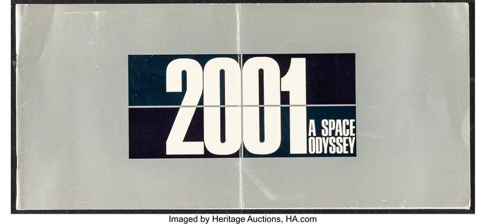 2001: A Space Odyssey program 1