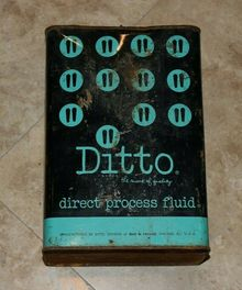 Ditto Inc. logo and packaging