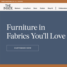 The Inside furniture website